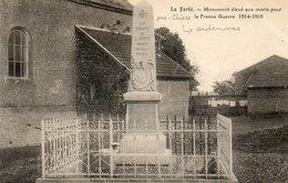 CPA - Environs De MARGUT (08) La FERTé-sur-CHIERS - Aspect En 1925 Du Monument Aux Morts Pour La Guerre 1914 / 18 - France
