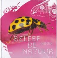 Themaboek PostNL – Beleef De Natuur - Insecten - Jaar Van Uitgifte 2018 - Exclusief Zegels - Andere