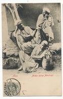 Arabs Horn Merchants Marchands De Cornes Aden Stamped 1906 Not Postally Used - Arabie Saoudite