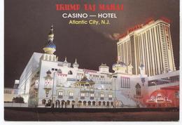 ETATS UNIS   ATLANTIC CITY TRUMP TAJ MAHAL - Atlantic City