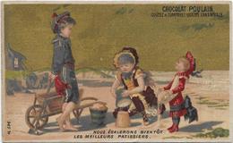 H.Lass 596 Ciel Or /Scène De Plage Avec Enfants > Nous égalerons Bientôt Les Meilleurs Pâtissiers - Poulain