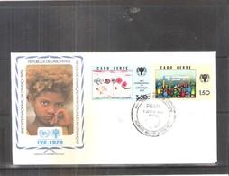 Année Internationale De L'Enfant 1979 - FDC Cabo Verde - (à Voir) - Cap Vert