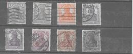 Serie De Alemania Imperio Nº Yvert 96/03 O - Alemania