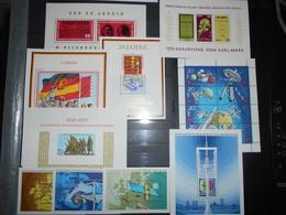 Collection , Ddr 10 Blocs Neuf - Verzamelingen (zonder Album)