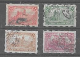 Serie De Alemania Imperio Nº Yvert 112/15 O - Alemania