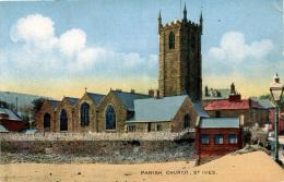 CORNWALL - ST IVES - PARISH CHURCH  Co522 - St.Ives