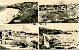 CORNWALL - ST IVES  - 4 RP VIEWS Co140 - St.Ives