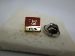 PIN'S    FORD  CREDIT FORD - Ford