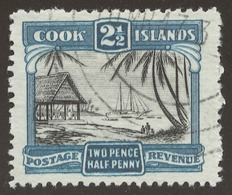 Cook Islands SG# 109 ISLANDERS UNLOADING SHIP - Cook Islands