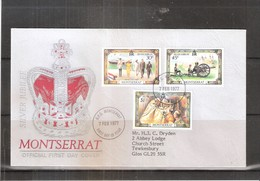 Montserrat - FDC Silver Jubilee - Complete Set (to See) - Montserrat
