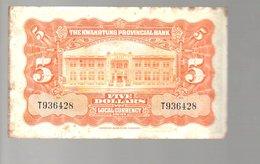KWANTUNG PROVINCE Sun Yat Sen 1931 $ 5 (35) - China
