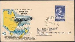 AUSTRALIA - 1958 FDC - 1966-79 Elizabeth II
