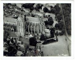 Foto/Photo. Le Mans. Cathédrale Saint Julien. Vue Aérienne. - Places