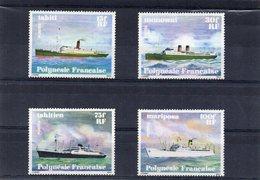 Polynesie / 1978 Superbe Série De 4 Valeurs Dentelées MNH Cote 18.00 Départ 3.50 Euros - Bateaux