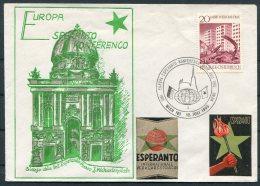 Esperanto 3 Covers/cards Czechoslovakia Finland Austria - Esperanto