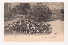 CPA DIEKIRCH : La Grande Pêche, Le Partage, Bien Animée, Circulée En 1906 - Nels, Metz, Serie 9 N° 18 - Diekirch
