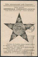 1936 Esperanto Postcard - Picton Ontario Canada - 1931-1941 Kingdom Of Yugoslavia