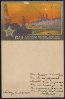 1914 Paris Esperanto Congress Postcard Adony - Germany - Briefe U. Dokumente