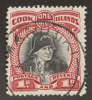 Cook Islands SG# 138 CAPTAIN JAMES COOK - Cook Islands