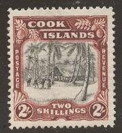 Cook Islands SG# 128 (**) Regummed? CAPTAIN JAMES COOK - Cook Islands
