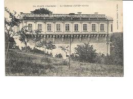 16-CLAIX-(Roullet)-Une Vue Du Chateau Du 18e Siecle - France