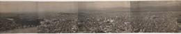 Photo Originale GRECE Athènes Montage De 4 Photos Formant Un Panoramique Vu Du Lycabette 1929 - Places