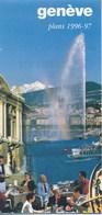 Schweiz Genf Stadtplan 1996 - 1997 - Paris