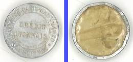 Jeton Crédit Lyonnais , Emprunt National 1920 - Monetary / Of Necessity