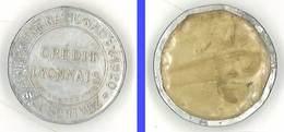 Jeton Crédit Lyonnais , Emprunt National 1920 - Monedas / De Necesidad