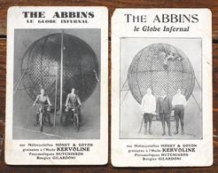 2 CP THE ABBINS Le Globe Infernal Motocyclettes Monet & Goyon Kervolin - Cirque