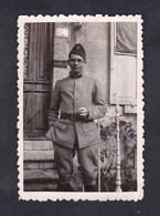 Photo Originale Amateur Militaire Genealogie Pierre Villant ( Meuse ? ) - Guerre, Militaire