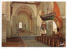 NOIRMOUTIER --Intérieur De L'église  Saint Philbert (maquette De Bateau ) - Noirmoutier
