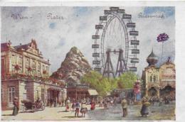 AK 0048  Wien - Lustspieltheater , Riesenrad / Künstlerkarte Gemalt Von K.Z.W. Um 1923 - Prater