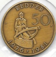 50 REDDER  1981 RUISBROECK - Tokens Of Communes