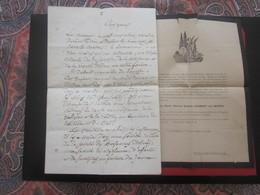 Manuscrit 3-10-1880 Fabuleux Discours Prêtre Aumônier F.Perrea Contrat Sacrement Mariage Chabert/Michel Marseille+Décès! - Religión & Esoterismo