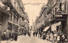BRIVE-LA-GAILLARDE RUE DE L'HOTEL-DE-VILLE (PARTIE CENTRALE) - Brive La Gaillarde