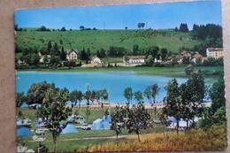 CLAIRVAUX LES LACS - Le Camping Et La Plage ( 39 Jura ) - Clairvaux Les Lacs