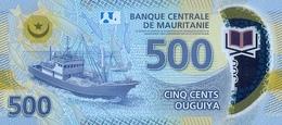 MAURITANIA P. NEW 500 O 2017 AUNC - Mauritanie