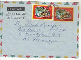 Courrier De GHANA  Vers L'ALLEMAGNE - Ghana - Gold Coast