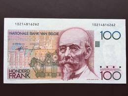 BELGIUM P140 100 FRANCS 1978.1981 UNC - 100 Francs