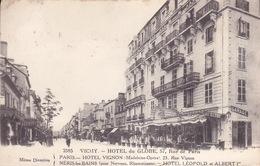 CPA - 03 - VICHY - Hôtel Du Globe - 2585 - Vichy