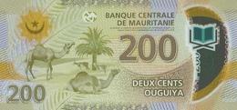 MAURITANIA P. NEW 200 O 2017 AUNC - Mauritanie