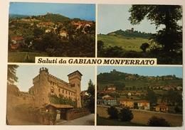 SALUTI DA GAMBIANO MONFERRATO  VIAGGIATA FG - Alessandria