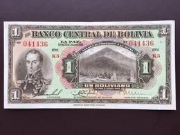 BOLIVIA P118 1 BOLIVIANO 1928 UNC - Bolivia