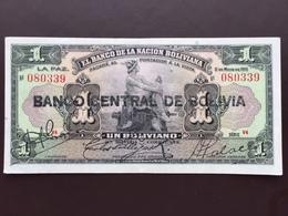 BOLIVIA P112 1 BOLIVIANO 1929 UNC - Bolivia