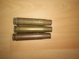Lot De 3 Douilles De 2cm Flak - Armes Neutralisées