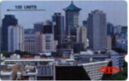 SINGAPORE : SIN01C 100 Orchard Skyline (probably MINT) MINT - Singapore