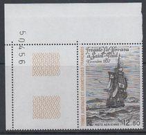 "TAAF 1985 Frigate ""La Novara"" 1v (corner) ** Mnh (40875B) - Luchtpost"