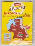 Magnet Brossard - Europe, Estonie, Biélorussie, Lettonie, Lituanie - Magnets