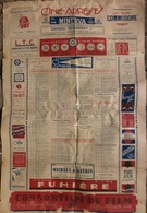 """""""CINÉ-ADRESSES"""", Publication Annuelle 1945 (affiche) - INFOS PROFESSIONNELLES CINÉMA Publicité Commodore Gaumont Minerva - Revistas"""